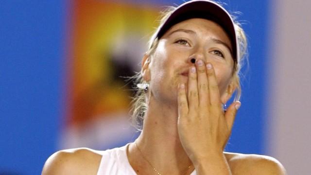 Australian Open Viertelfinale - Maria Scharapowa gewinnt