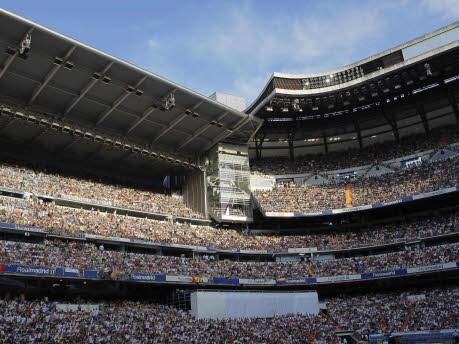 Cristiano Ronaldo, Real Madrid, Vorstellung, Estadio Santiago Bernabeu, 80.000 Fans