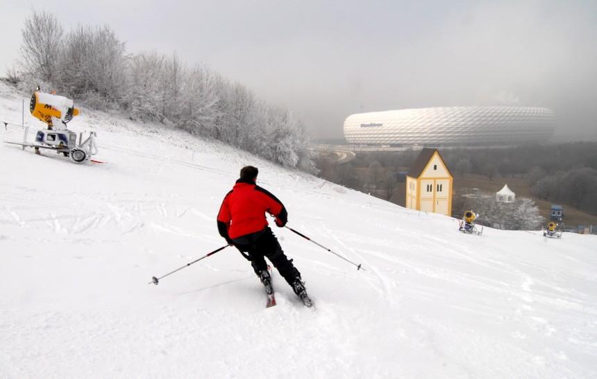 Skiarena in Fröttmaning, 2008