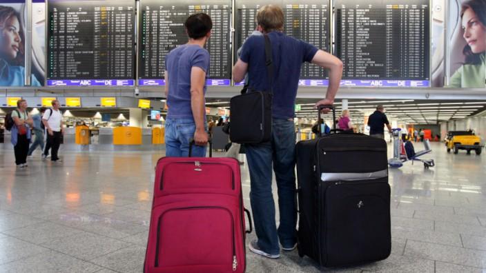 Passagiere Flughafen Flugverspätung Annullierung Fluggastrechte