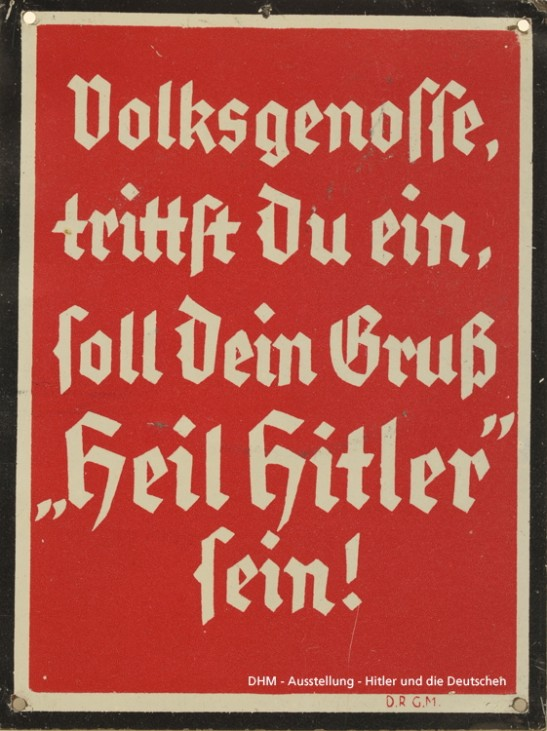 HItler und die Deutschen, Austeluung im Deutschen Historischen Museum Berlin
