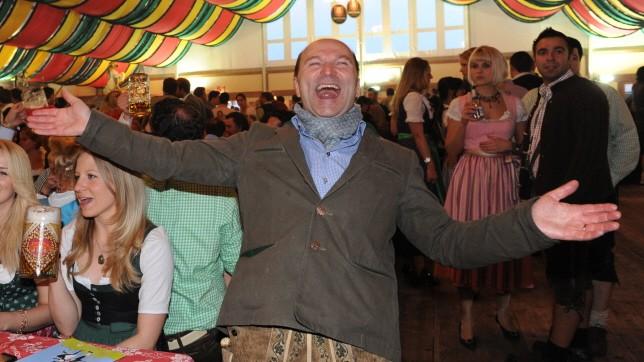 Sepp Krätz im Hippodrom auf dem Münchner Frühlingsfest, 2010