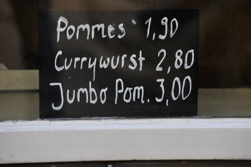 Currywurstverkauf in München, 2010