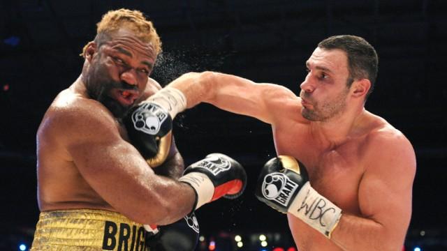 Boxen Schwergewicht - Vitali Klitschko - Shannon Briggs