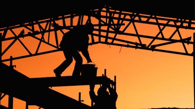 Auftragseingaenge im Baugewerbe wieder gesunken