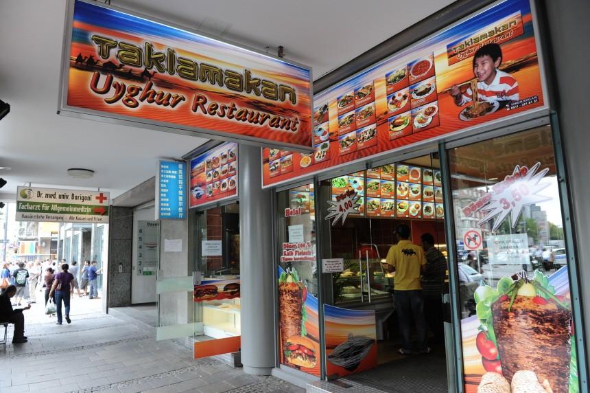 Ugurisches Restaurant in München, 2010