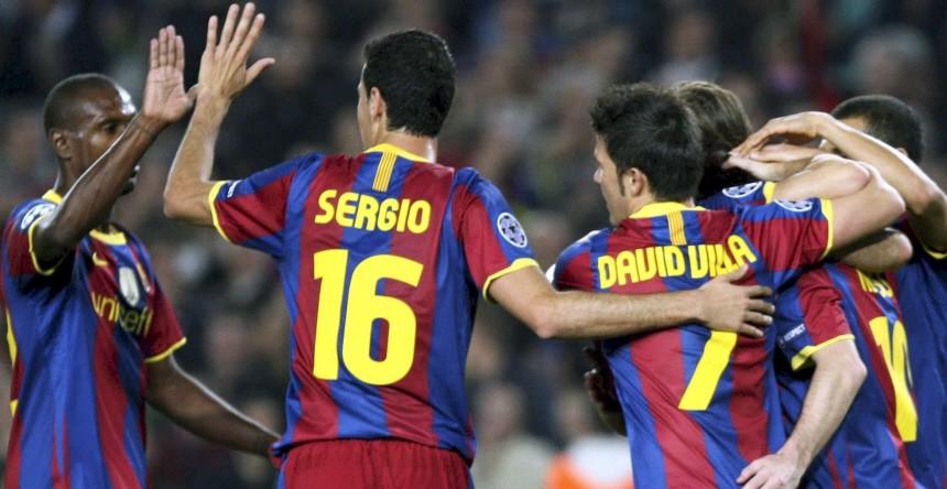 Champions League - FC Barcelona - FC Kopenhagen