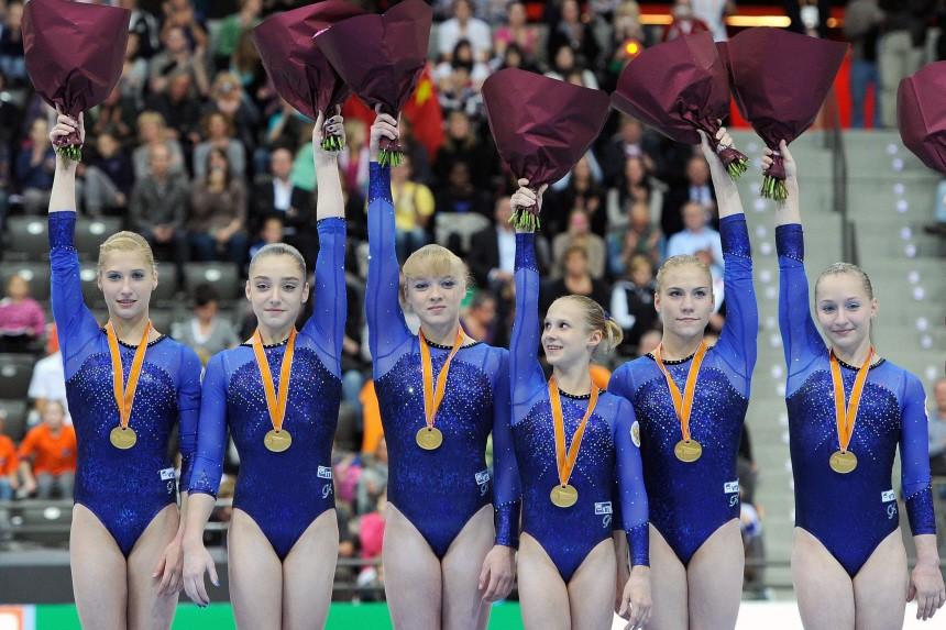 Turn-WM Rotterdam - Team Russland