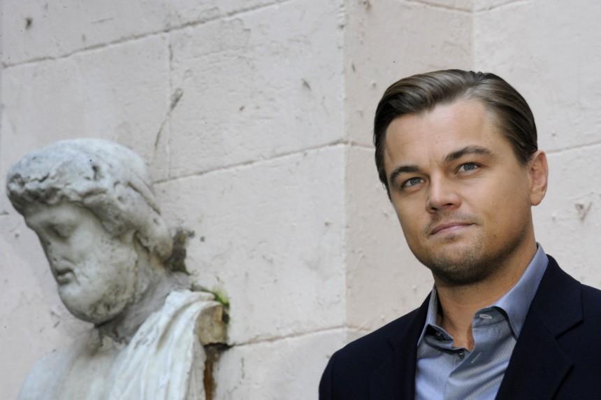 U.S. actor Leonardo Di Caprio attends a news conference to promote his new film 'Shutter Island' in Rome