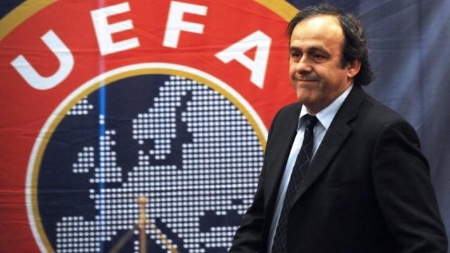 Fußball: Korruption bei der Uefa?: Uefa-Präsident Michel Platini könnte in seinem Verband Ärger drohen: Haben Funktionäre die EM 2012 verkauft?