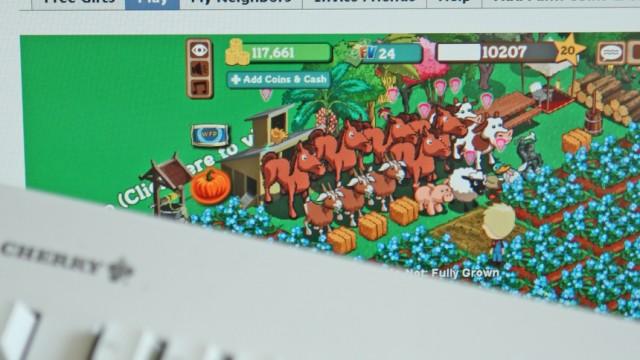 Virtueller Bauernhof Farmville auf Facebook boomt