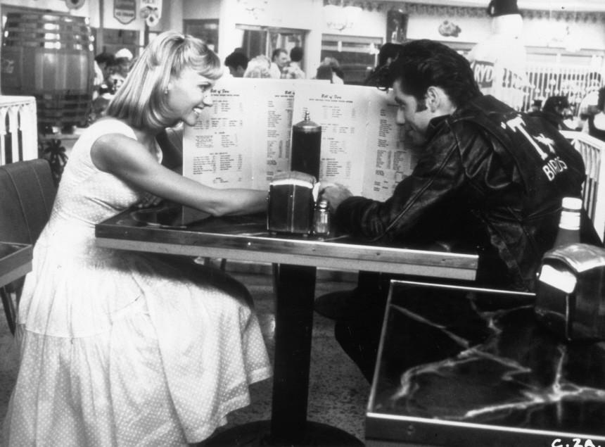 John Travolta, Olivia Newton-John in Grease