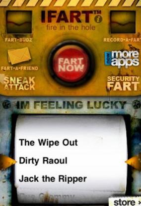 Schlechte Apps iFart