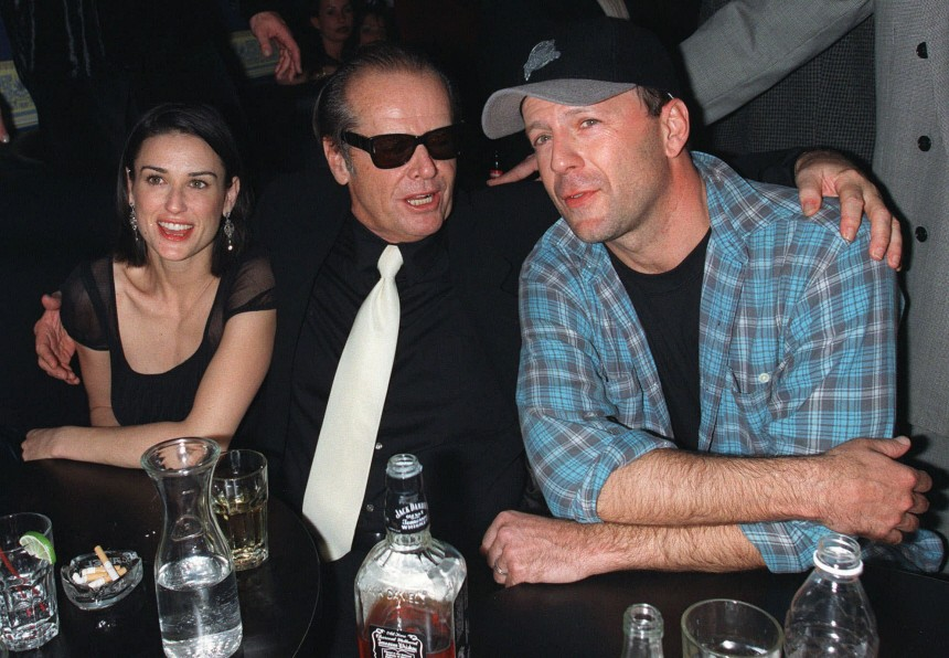Jack Nicholson, Demi Moore, Bruce Willis, 1998