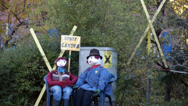 Proteste gegen Atommuell-Transport