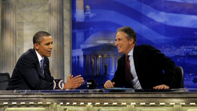 Obama doziert bei Comedy-Show