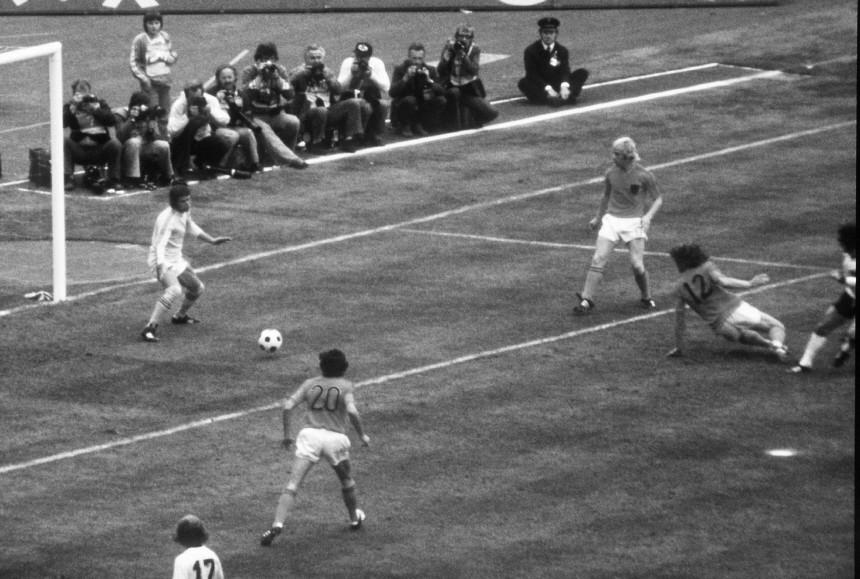 Fußball-Weltmeisterschaft in Deutschland, 1974: Finale - Deutschland gegen Niederlande   2 : 1