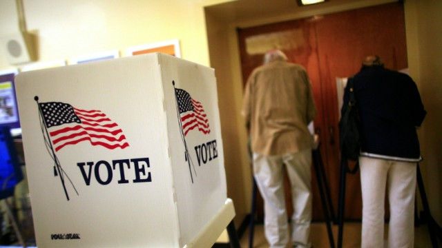California Voters Head To The Polls For Midterm Elections
