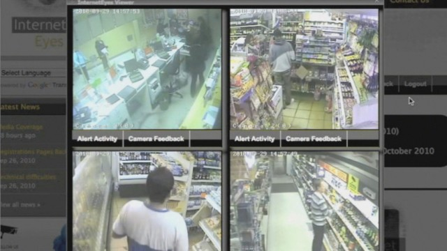 Internet Eyes CCTV Überwachung