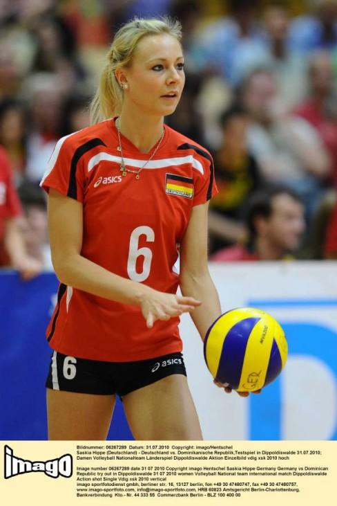 Saskia Hippe Deutschland Volleyball Nationalmannschaft