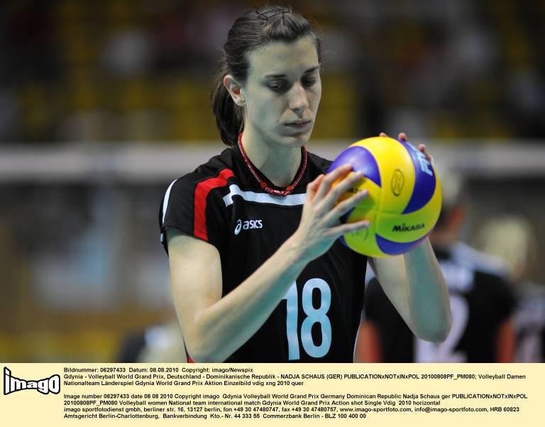 Nadja Schaus Deutsche Nationalmannschaft Frauen Volleyball