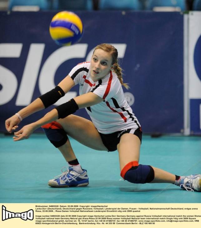 Lenka Dürr Deutsche Nationalmannschaft Volleyball