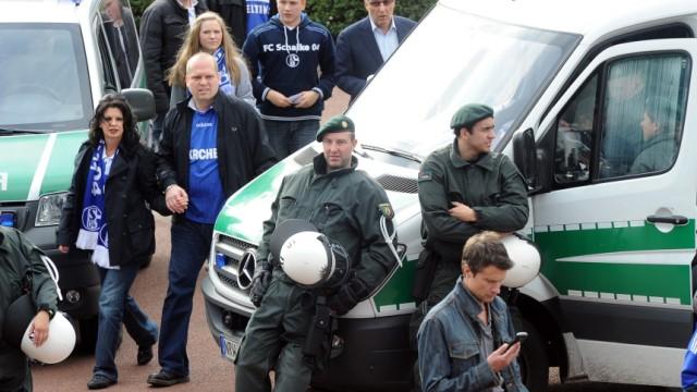 Polizei Fußball Fussball