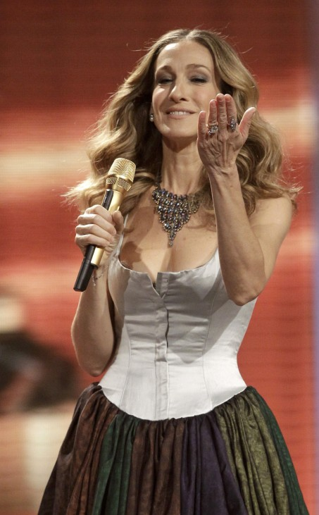 US actress Sarah Jessica Parker hosts 62nd Bambi media awards ceremony in Potsdam