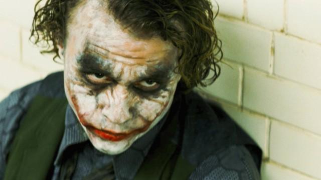 """Die letzte Rolle Heath Ledgers ist der """"Joker"""" in """"The Dark Knight""""."""