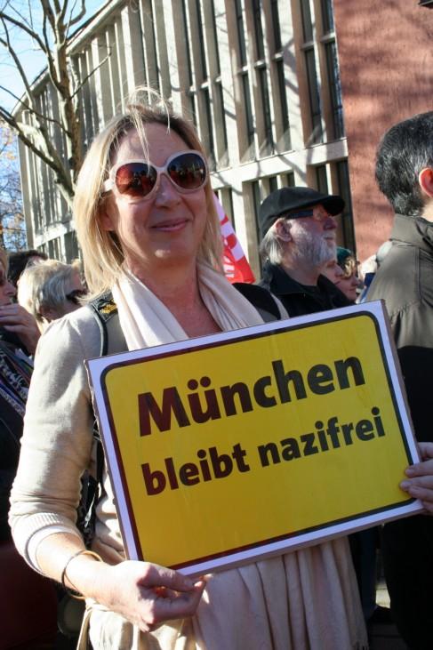 Demonstration München ist bunt