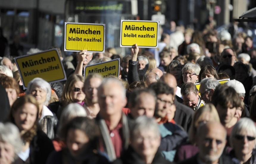 Gegenkundgebung gegen rechtsextremistischen Aufmarsch