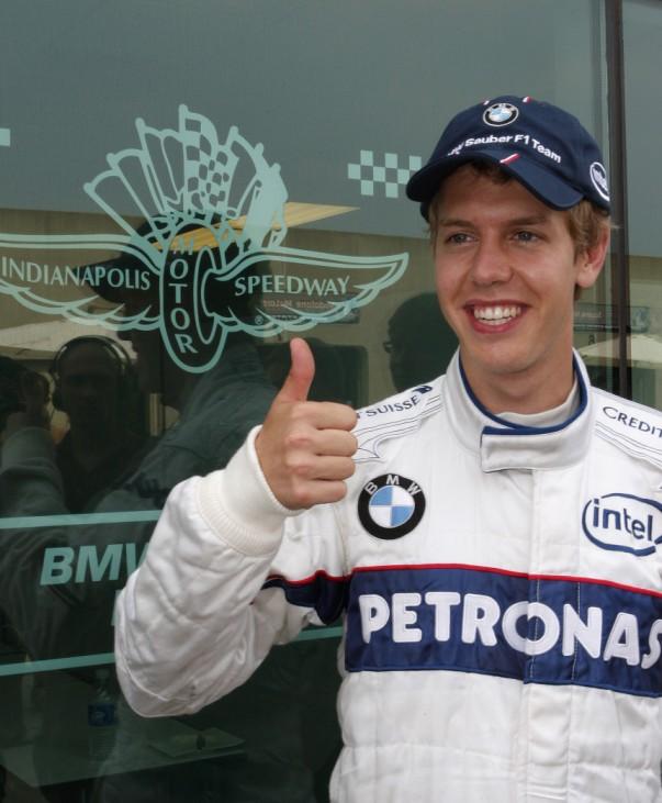 Formel 1 - GP USA - Vettel wird Achter