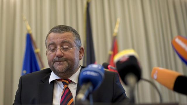 Brandenburgs Innenminister Speer zurueckgetreten
