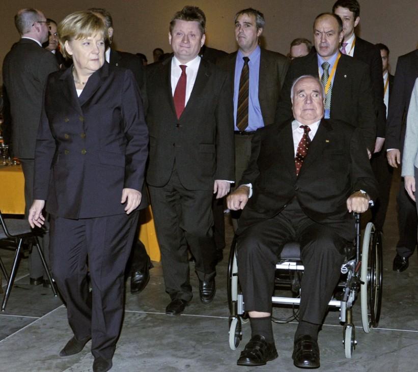 CDU-Parteitag - Helmut Kohl
