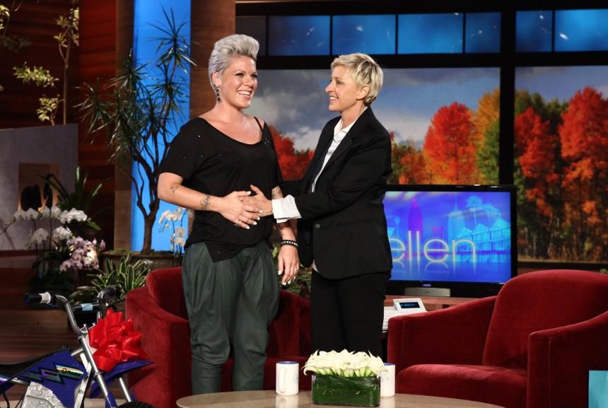 Pink, Ellen DeGeneres