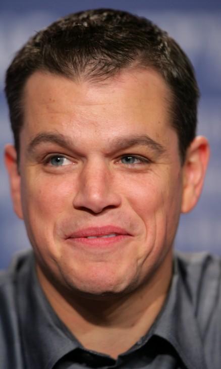 Leute-News: Matt Damon