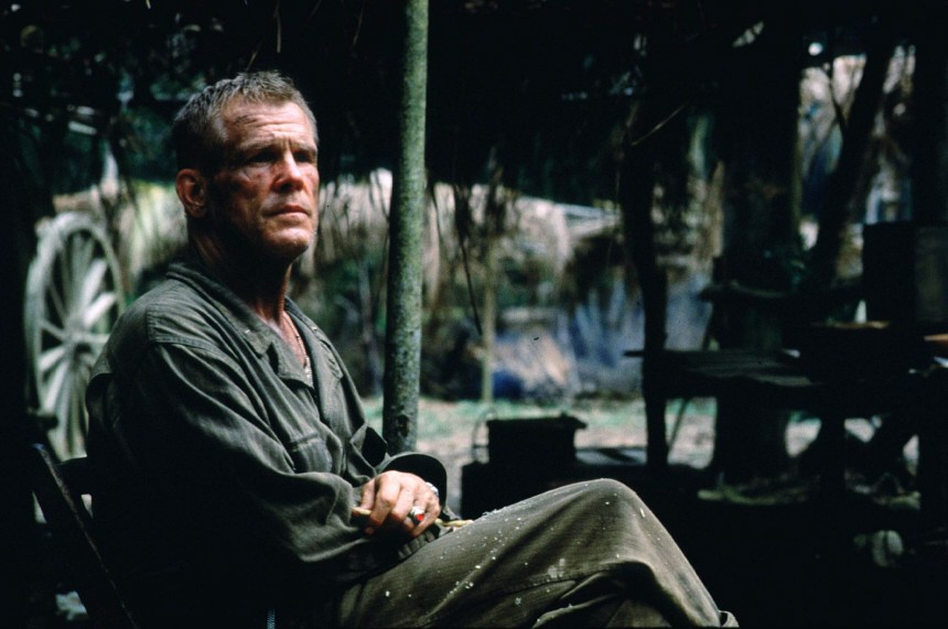 """NICK NOLTE IN SCENE FROM """"THE THIN RED LINE"""""""