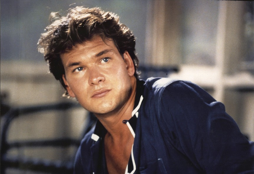 Actor Patrick Swayze is shown in an undated publicity photograph