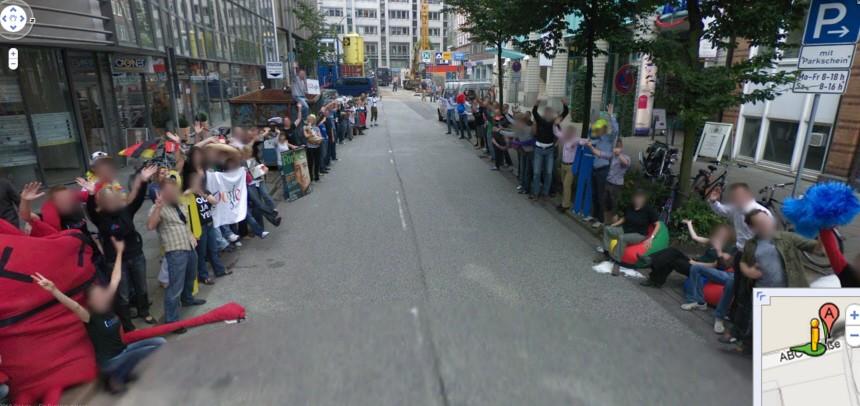 Google startet Street View in Deutschland