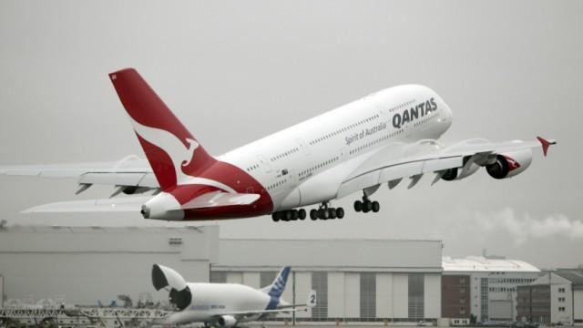 Qantas: Austausch von 40 Triebwerken der weltweiten Airbus-A380-Flotte noetig