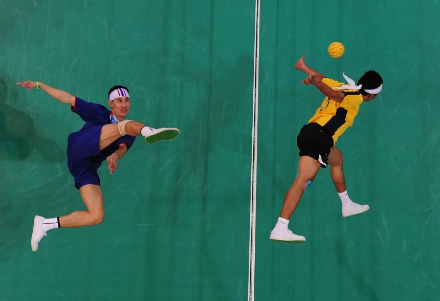 16th Asian Games - Day 8: Sepaktakraw