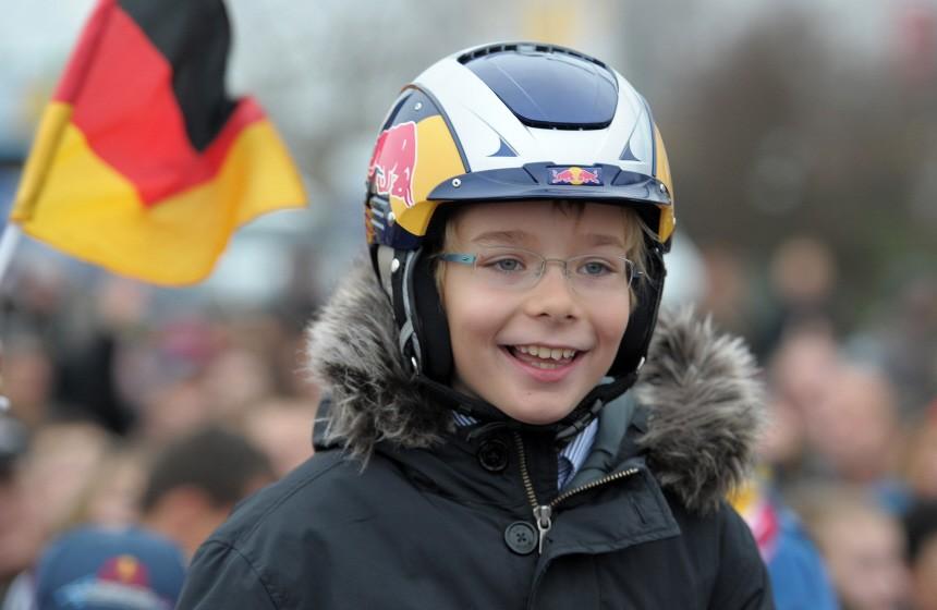Empfang Formel-1-Weltmeister Vettel
