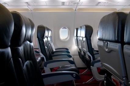 Platzvergabe im Flugzeug