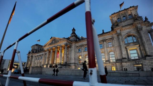 Sicherheitsvorkehrungen in Berlin