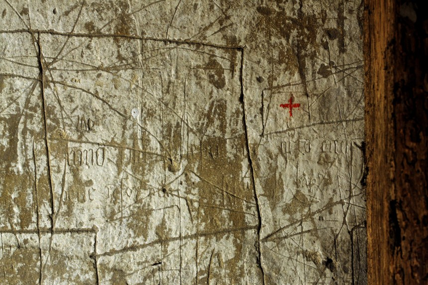 Graffiti im Nonnenkloster