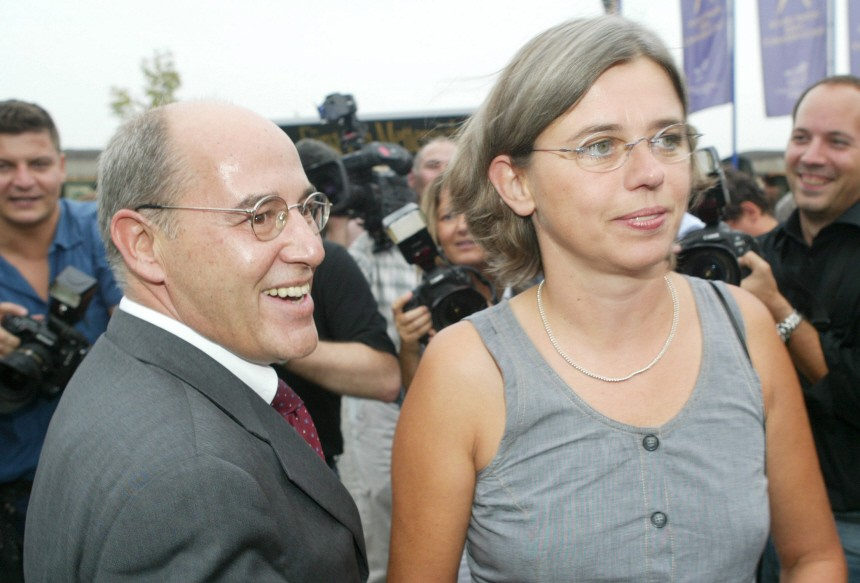 Gysi und Ehefrau Andrea trennen sich