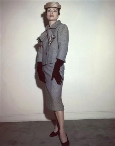 Mode, Kostüm, Model, Frankreich