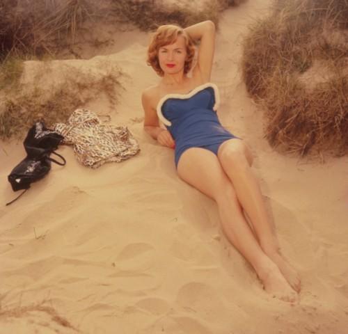 Bademode / Badeanzug / Swimsuit / 1960er