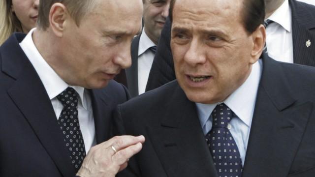 Silvio Berlusconi, Vladmir Putin