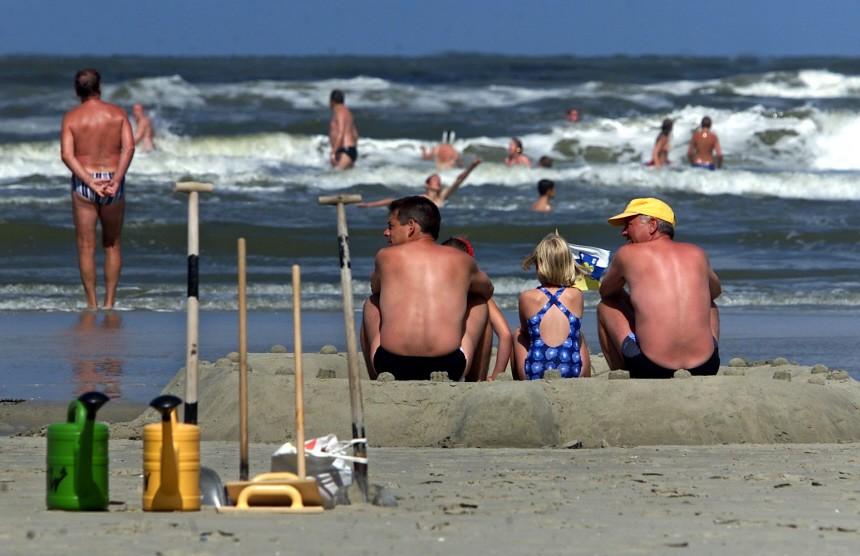 Strandleben auf Juist